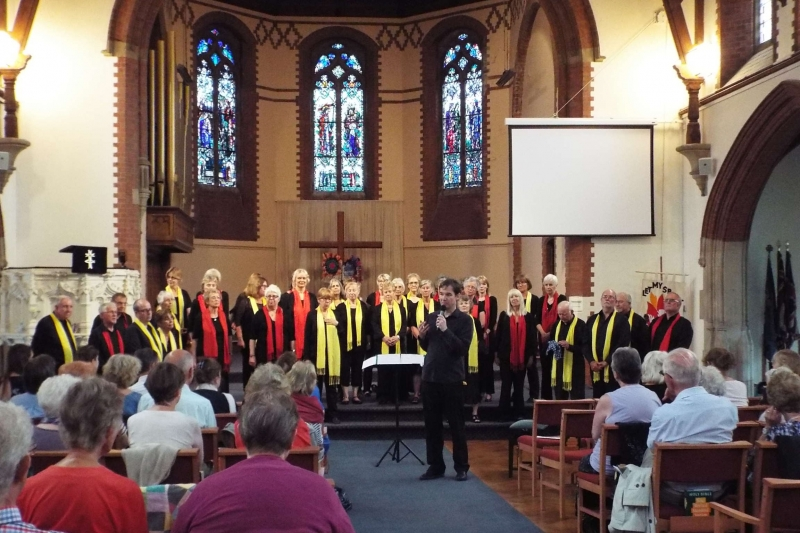 Fundraising Concert at St Andrew's URC in Southampton - over £700 raised!