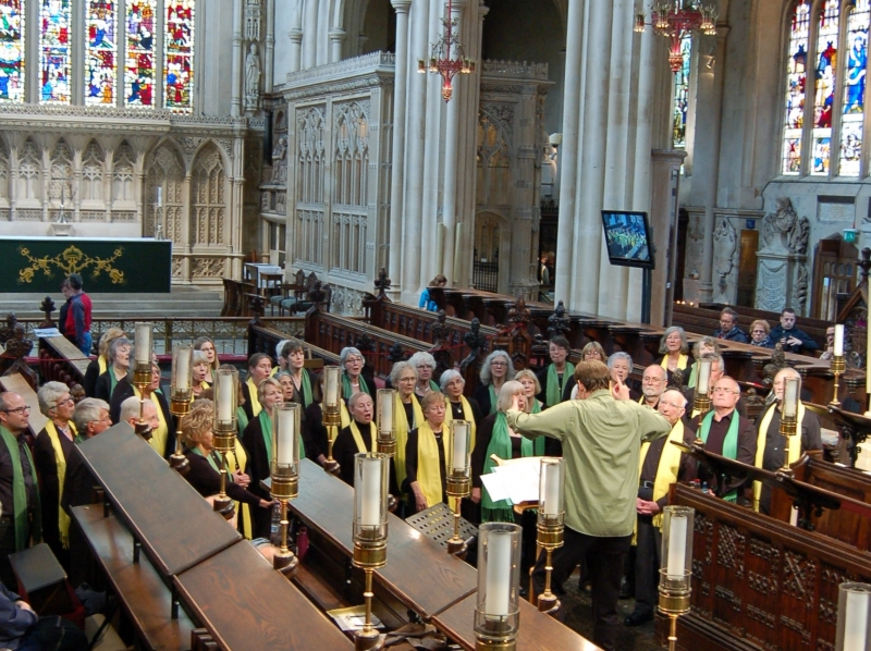 Voices of the Forest Sing Bath Abbey